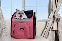 Petique's Backpacker is light, spacious, and comfortable for you and your pets. The denim look puts the swag in your pet carrier, giving you a more stylish look when you take your dogs out. We understand some areas do not allow pets or some pets are...