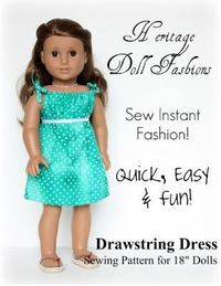 """Living A Doll's Life : Patterns for 18"""" dolls. Note to self: remember to measure the Cabbage Patch Kids dolls that my daughter has!"""
