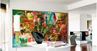 EDYTA & CO. INTERIOR DESIGN: Colorful Abstract Paintings in Home Design