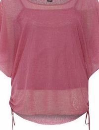 Dorothy Perkins Womens Izabel London Mid Pink Batwing Tie Hem Mid Pink batwing tie hem detail top. Round neckline. Half sleeves. Length 68cm. 100% Polyester. Cold gentle machine wash. Do not dry clean. http://www.comparestoreprices.co.uk/womens-clothe...