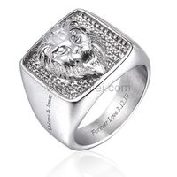 Personalized Lion Wedding Ring for Men https://www.gullei.com/personalized-lion-wedding-ring-for-men.html