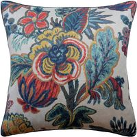 Jewel Floral Gala Pillow by Ryan Studio $240.00