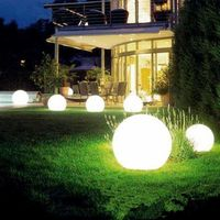 Solar Powered Waterproof Outdoor Ball Lights Lawn Yard Landscape Decorative $12.99