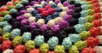 colour in a simple life: Granny Bobble Blanket