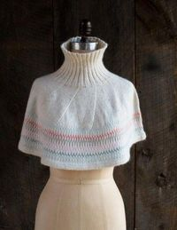 Northern Lights Capelet | The Purl Bee