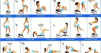 whole body vibration exercise chart | ... Well presents, The K-1 Platinum Whole Body Vibration Exercise Machine