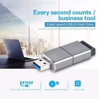 Eaget 128GB USB 3.0 Flash Drive U Disk High Speed Reading For Laptop Notebook Speaker
