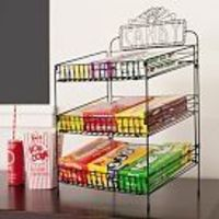 Wire Food Display, Black, Tiered Candy Holder $39.00