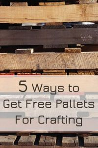 There are SO many ideas online right now about ways to use pallets for home decor, to build patio furniture,�€� Read more »