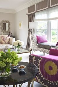 Julie refined her interior design skills for a decade at several high end residential and commercial firms in Manhattan and San Francisco before starting her ow