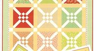 Crosscheck Quilt Pattern<BR>Fig Tree Quilts