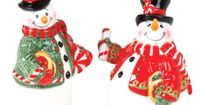 I pinned this 2 Piece Snowman Salt and Pepper Set from the Christmas in July event at Joss and Main!