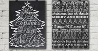 In which I round up 12 Free Christmas Chalkboard Printables, including one I created for this post that's inspired by the Beach Boys' Little Saint Nick.