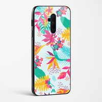 Floral Exotica Glass Case Phone Cover from Myxtur