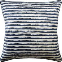 Corfu Stripe Navy Pillow by Ryan Studio $250.00