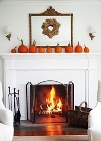 happy fall weekend - my ideal home...