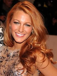 I've always gone medium dark to dark red when I've colored my hair, but I believe this will be my next red! -TB