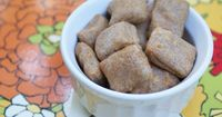 {bacon cheddar dog treats} made these for lando, he's crazy about them! - LM