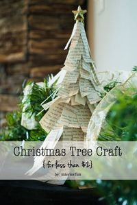 Interior Fun: Christmas Trees for a Few Dollars