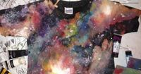 How to Make a Galaxy Shirt. Chic galaxy shirts that mimic the appearance of the starry heavens have gotten popular in recent years, but you don't have to pay bi