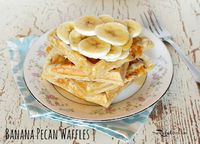 waffles, waffle recipes and pecans.