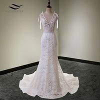 Sexy Lace Mermaid Bridal Gown $162.99