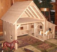 Image result for how to build a toy cowboy ranch