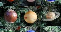 Solar system ornaments! The outer space queen needs these!