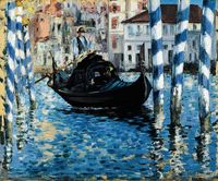 �‰douard Manet - The Grand Canal, Venice (Blue Venice), 1875, oil on canvas