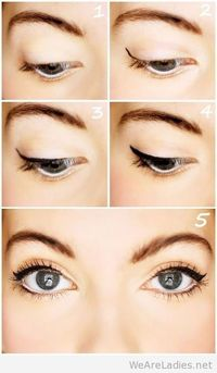 Doe Eye DIY makeup