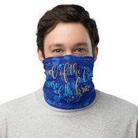 Face Mask Patriotic Neck Gaiter �€œLand of the free�€ Unisex Neck scarf 12 in 1 Multi-functional Gift Hair Cover Neckerchief Wristband, Beanie $19.85