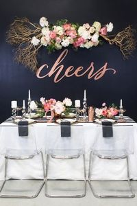 Gorgeous NYE part - photo by Ben Q Photography, design + florals by The Southern Table