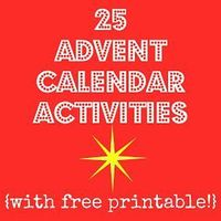Making Lemonade: Countdown 'Til Christmas: Printable Advent Activities. These are great ideas. I could hang them on the wall and wrap something too. (ie crafts item, hot chocolate kit, ornament..etc)