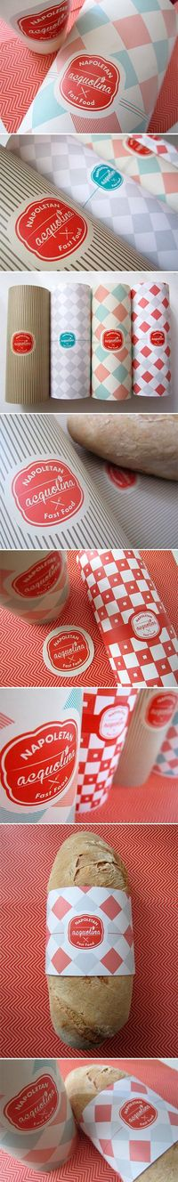Napoleon Fast Food #packaging design