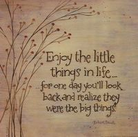 Enjoy The Little Things Prints at Total Bedroom Art