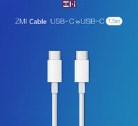 ZMI AL301 1.5M USB Type-C to Type-C Fast Charging Data Cable for Samsung Xiaomi Huawei