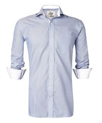 Kutch Blue Oxford with White Lining Shirt �'�1299.00