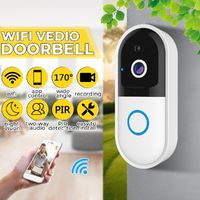 170° Visual Angle Wireless WiFi Video DoorBell IR Camera Intercom Home Security