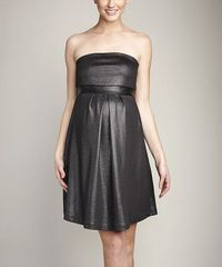 Loving this Dark Silver Maternity Strapless Dress on Zulily - Maternal America