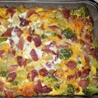 Made this this morning minus the broccoli and added red peppers, doubled eggs, added 1/2 cup milk. FANTASTIC! Mouth Watering Medley Allrecipes.com
