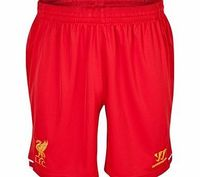 Warrior Liverpool Home Shorts 2013/14 WSSM335 Liverpool Home Shorts 2013/14 - MensFollow the Reds of Liverpoolas they battle for Premier League success in the 2013/14 season. Available to order now from Kitbag.com, the Liverpool Home kit 2013/14 http://...