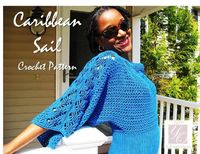 The Caribbean Sail Crochet Top Pattern is ready for you to create it for anyone in your life who loves fashion!