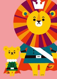 lions, behance and graphics.