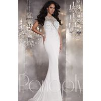 Midnight Panoply 14759 - Sheer Dress - Customize Your Prom Dress