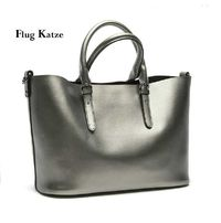 Flug katze 100% Genuine Leather Women Shoulder Bag Brand Designer Cowhide R606.45