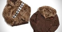 Star Wars Reversible Chewbacca Jacket - hide your inner nerd, or turn your jacket inside out and wear it proudly.