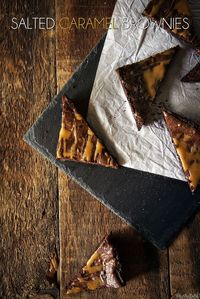 Salted Caramel Brownie Recipe ||