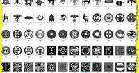 Native American Symbols and Meanings | mimbres native American symbols for steel fx website.jpg