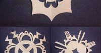 DIY 5 Superhero Snowflake Templates from Comic Book Resources. These are by Sonia Harris who writes: �€œ So here are five snowflake templates to print and cut out, each based on a different superhero;...