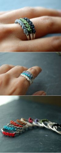 DIY ring makin these ya? - Click image to find more DIY & Crafts Pinterest pins